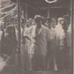 Janab A. K. Khan on tour as Minister